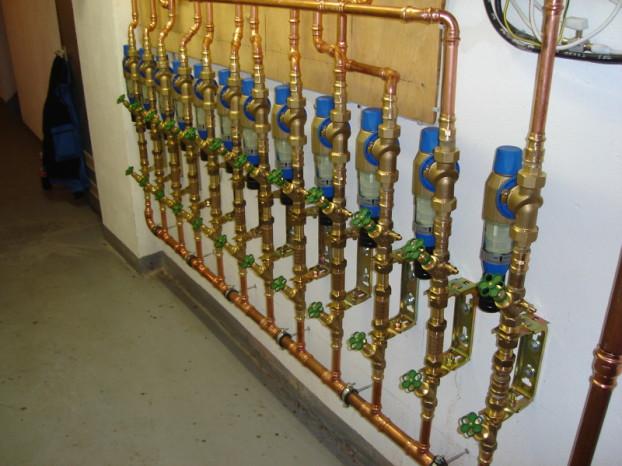 Grünheid GmbH, Leverkusen, Wasserverteilung